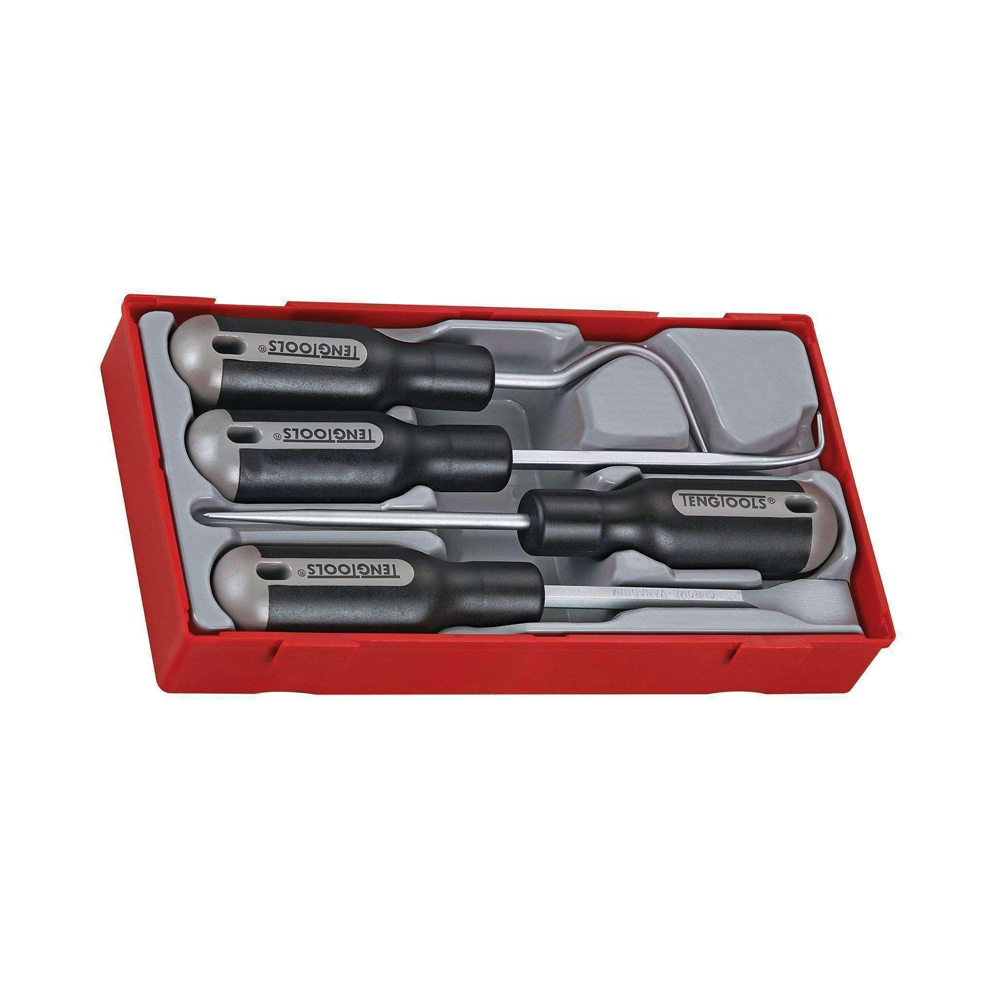 Teng Tools TTSR04 - 4 Piece Scraper and Removal Set - Teng Tools USA