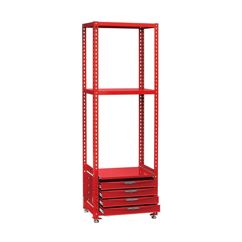 Teng Tools 27.5 Inch / 700mm Wide Modular Racking Shelving Unit With Drawers - RSK0700A - Teng Tools USA