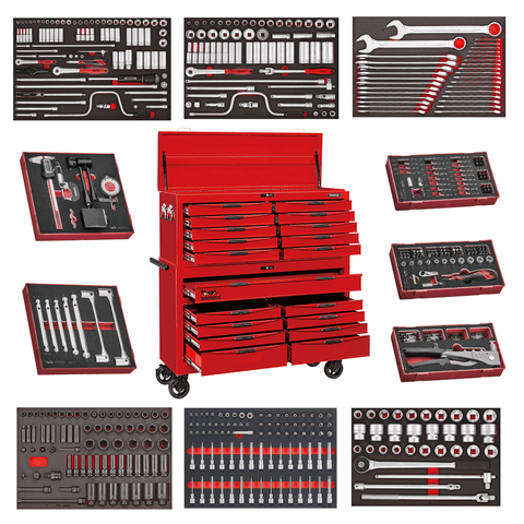 Teng Tools Ultimate Monster Mega Master Tool Kit In EVA Foam Storage