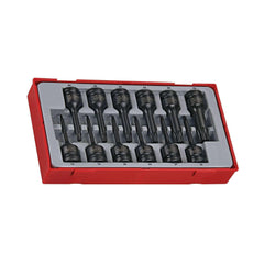 Teng Tools - 12 Piece 1/2 inch Drive Impact TX Bit Socket Set - TEN-O-TT9212TX - Teng Tools USA