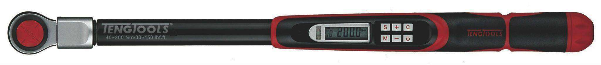 DIGITAL TORQUE WRENCH  1/2'' 200NM - Teng Tools USA