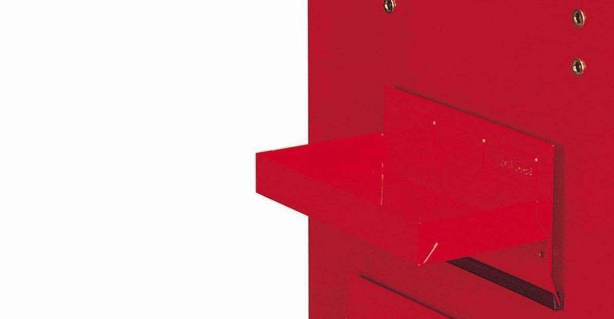 Teng Tools - 8 Inch / 210mm Wide Roller Cabinet Side Shelf - 580D