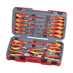 Teng Tools TV18N - 18 Piece Pliers and Screwdriver 1000 Volt Tool Set - Teng Tools USA