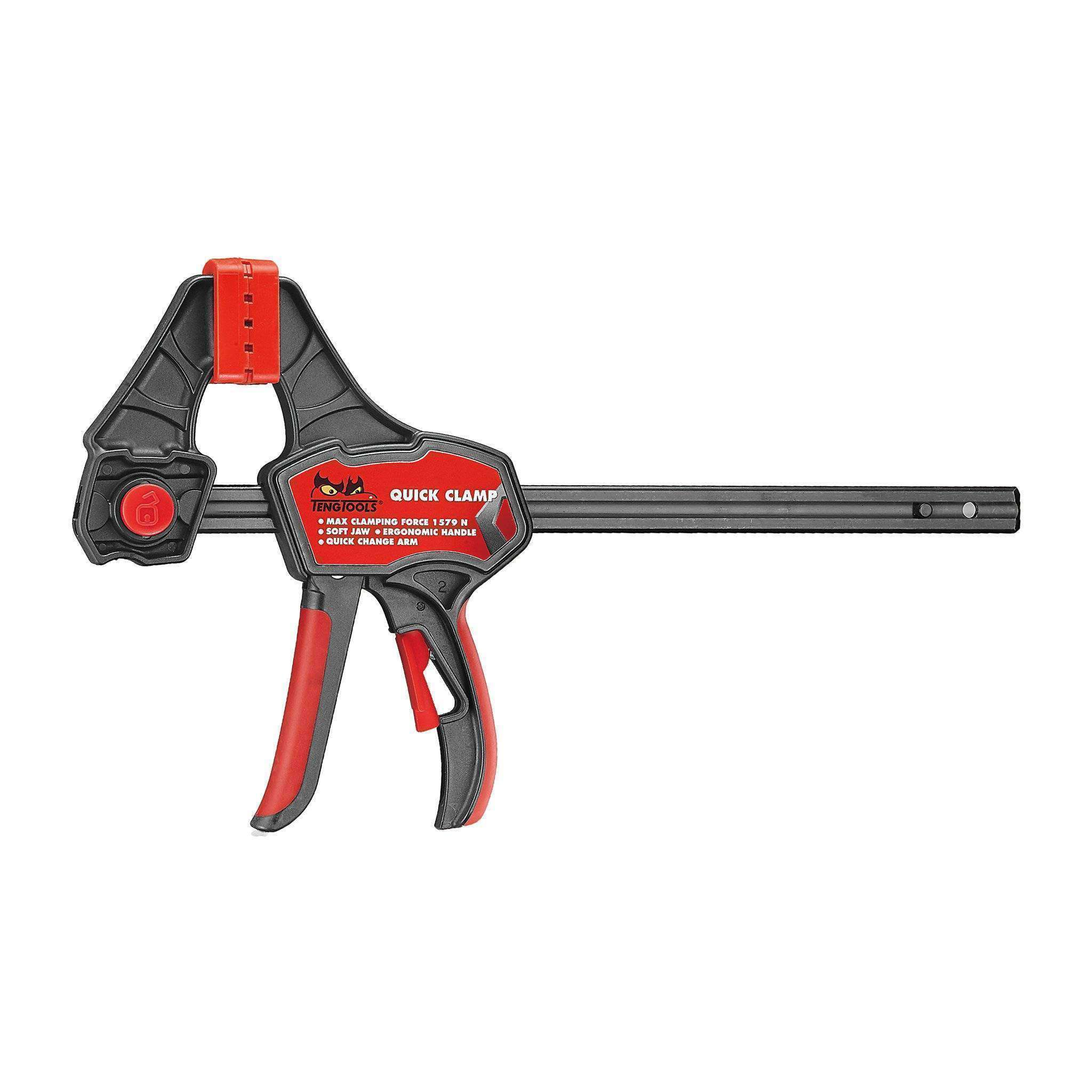 Quick Action Pistol Grip Ratchet Clamp - Teng Tools USA