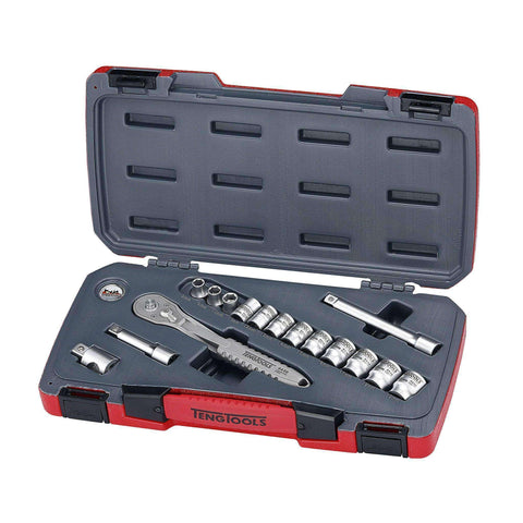 "3/8""DR STAINLESS SET - Teng Tools USA"