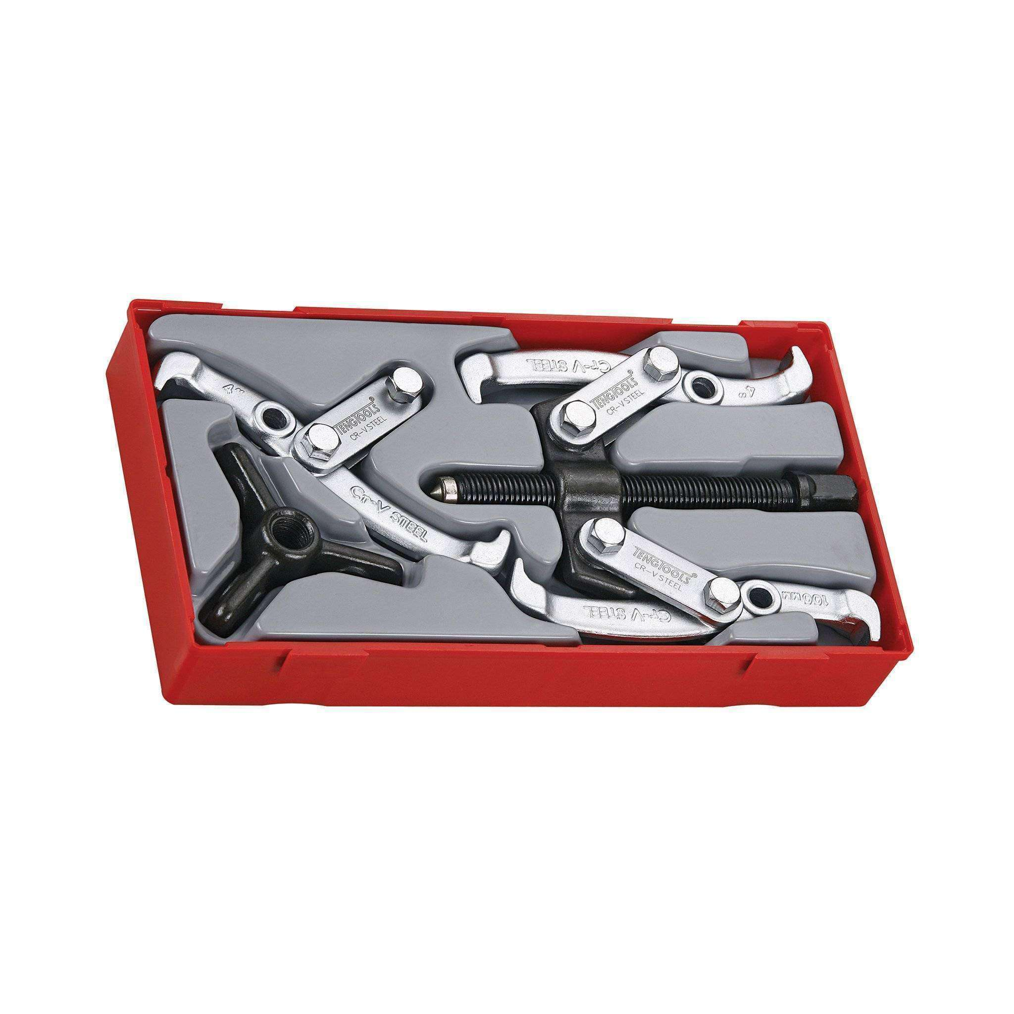 Teng Tools - 2 Piece Combination Puller Set - TEN-O-TT804 - Teng Tools USA