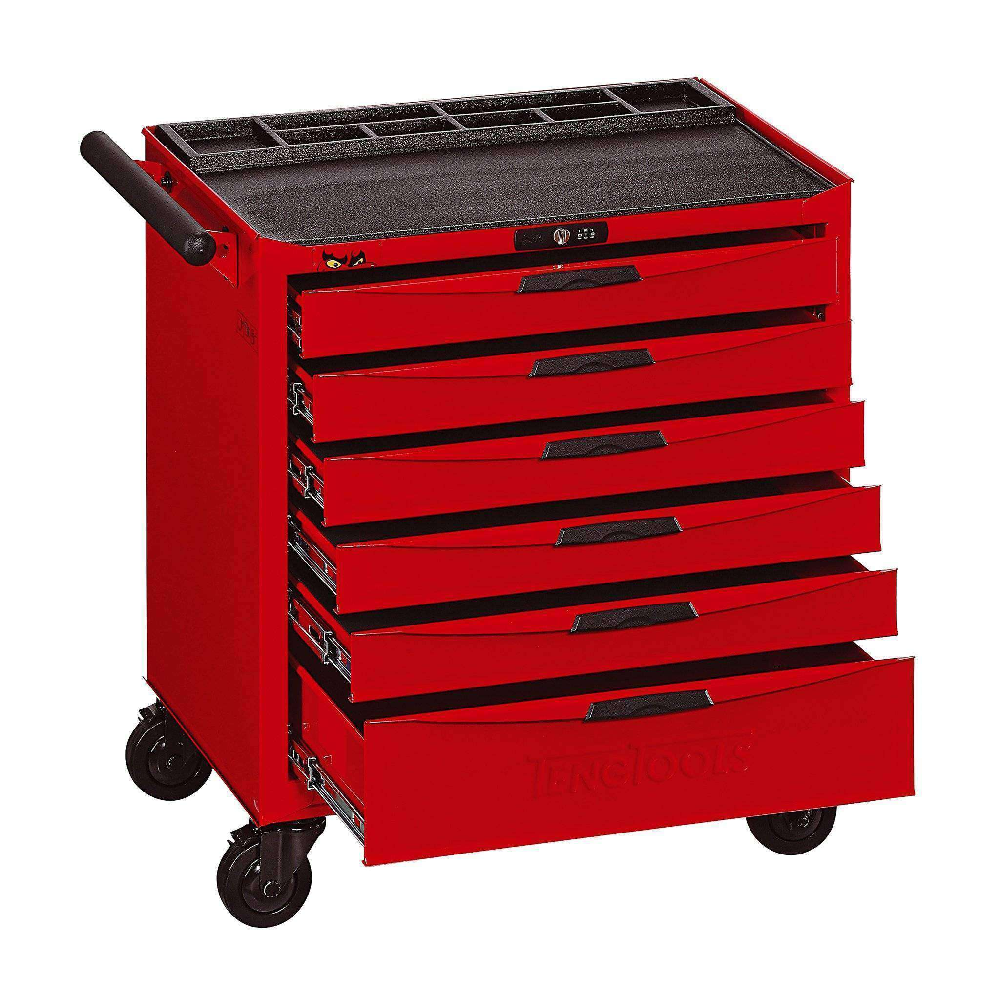 Teng Tools TCW806N - 6 Drawer 8 Series Roller Cabinet - Teng Tools USA
