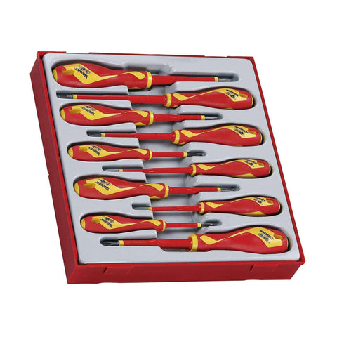 Teng Tools TTDV910N - 10 Piece 1000 Volt Screwdriver Set - Teng Tools USA
