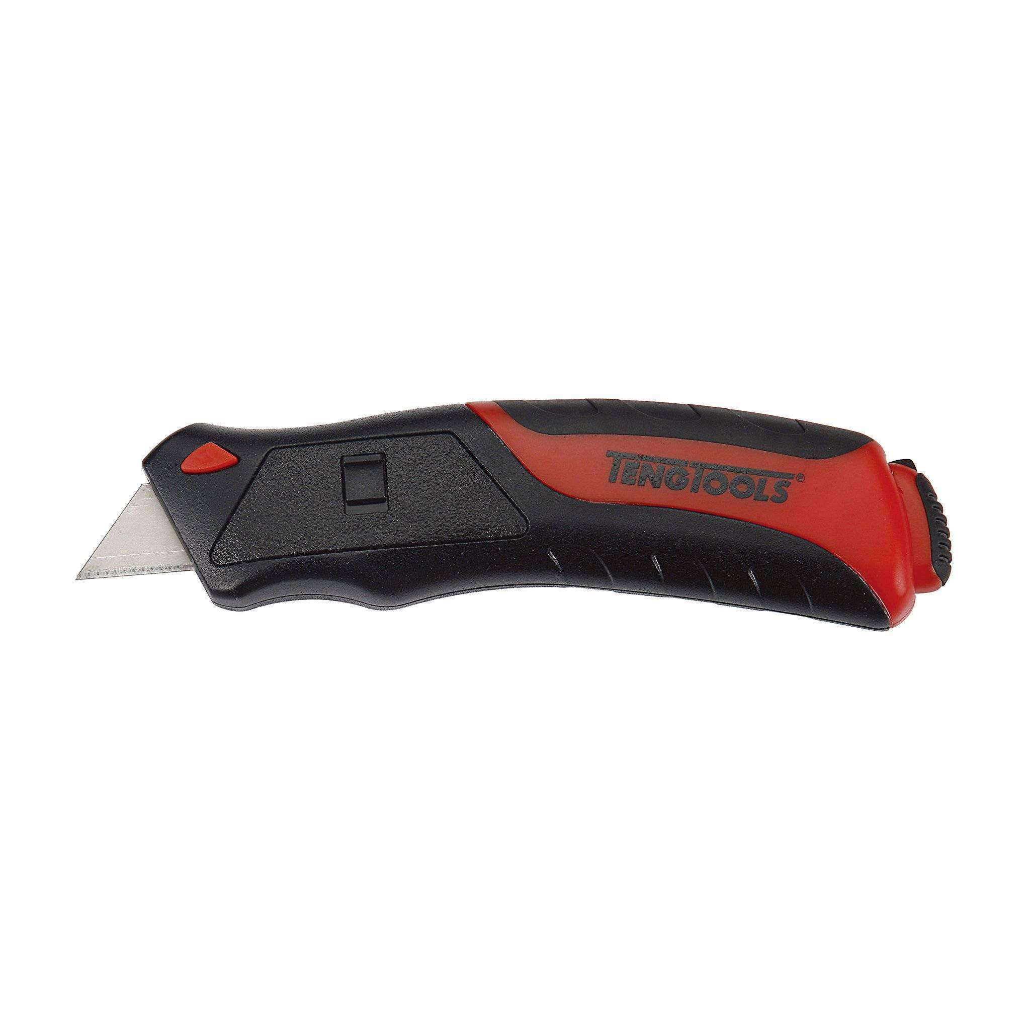 Aluminium Automatic Push Loading Utility Knife - Teng Tools 711 - Teng Tools USA