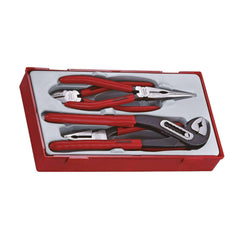 Teng Tools - 4 Piece Mega Bite Pliers Set - TEN-O-TT440 - Teng Tools USA