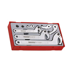 Teng Tools 8 Piece Spanner Hook and Pin Wrench Set -TTHP08 - Teng Tools USA