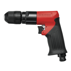 Teng Tools Pistol Style 10MM Chuck 1,800 RPM Left Right Hand Reversible Pneumatic Air Drill - ARD10