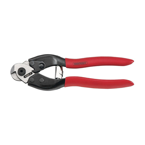 7 Inch Vinyl Grip Wire Cutters - Teng Tools 498-7 - Teng Tools USA