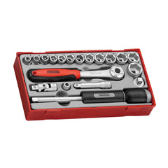 "Teng Tools - 19 Piece 3/8"" Drive Socket Set - TEN-O-TT3819"
