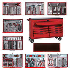 Teng Tools - 569 Piece Mega Master Tool Kit - TCMMIND08