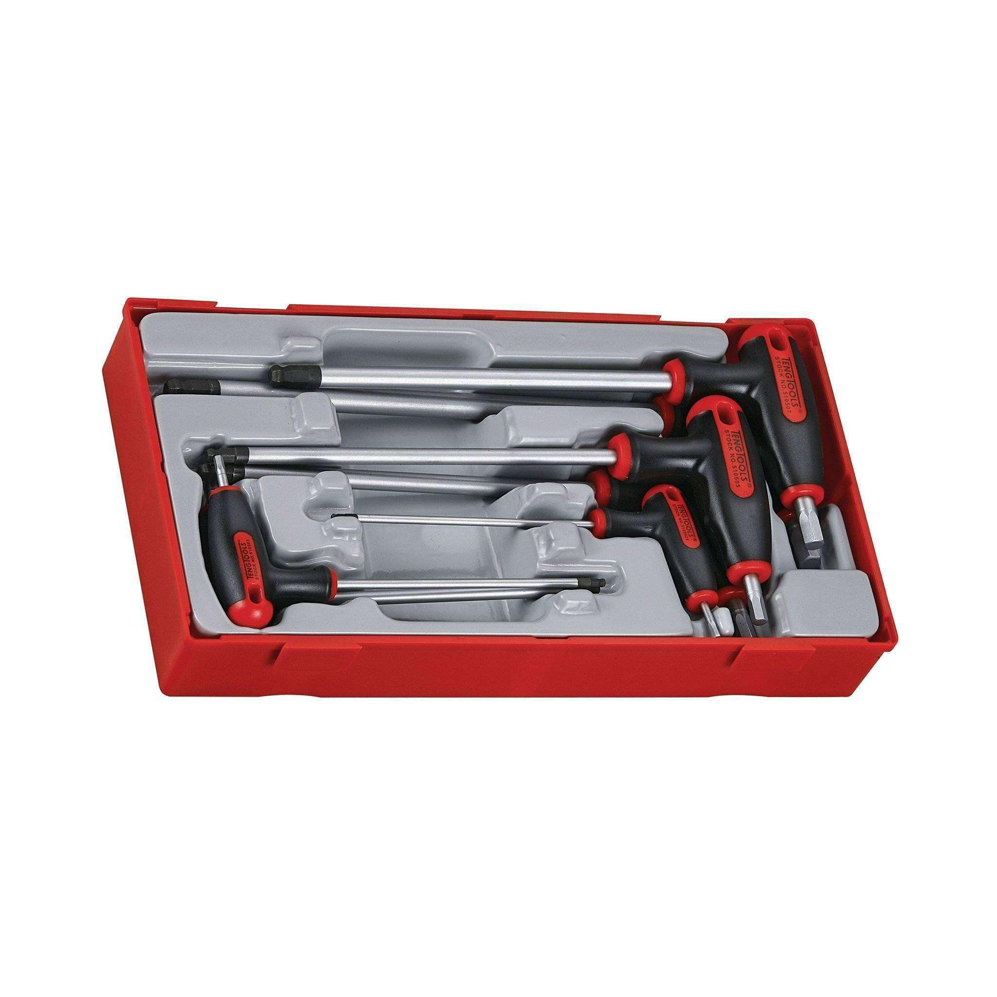 Teng Tools 7 Piece T Handle Hex Key Set - Teng Tools USA