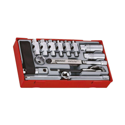 Teng Tools TTOS16 - 16 Piece Oil Service Set - Teng Tools USA