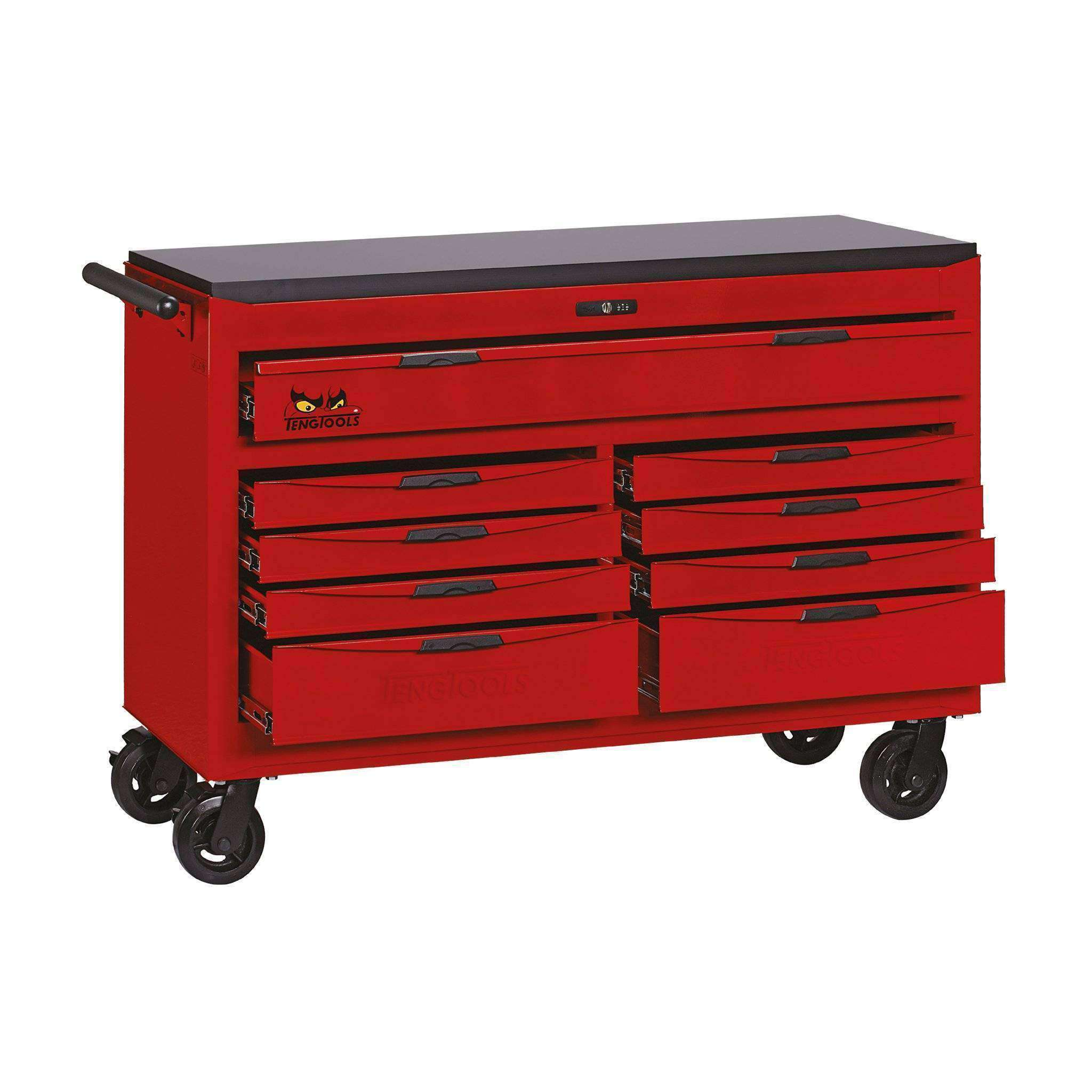 Well-liked Teng Tools TCW809N - 53 inch Wide 9 Drawer 8 Series Roller Cabinet JK75