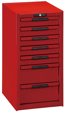 Teng Tools 7 Drawer Secure Lockable Side Cabinet (For Teng Tools Roller Cabinets) - TCW-CAB01