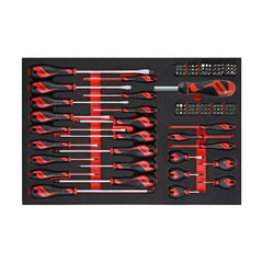 Teng Tools - 122 Piece Mega Drive Screwdriver Set in EVA - TEN-O-TTEMD122N - Teng Tools USA