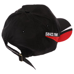Teng Tools Mens Womens Black Adjustable Athletic Classic Baseball Fitted Cap Hat - P-CAP7