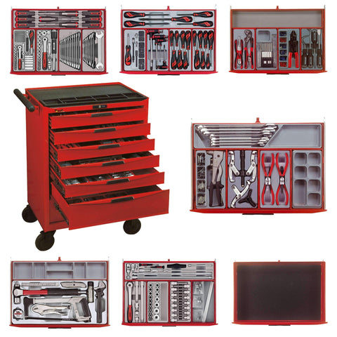 Teng Tools - 491 Piece Mechanics General Tool Kit - TEN-O-TCMM491N