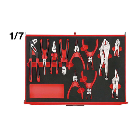 Teng Tools TTEMB11 11 Piece EVA Plier Set - Teng Tools USA