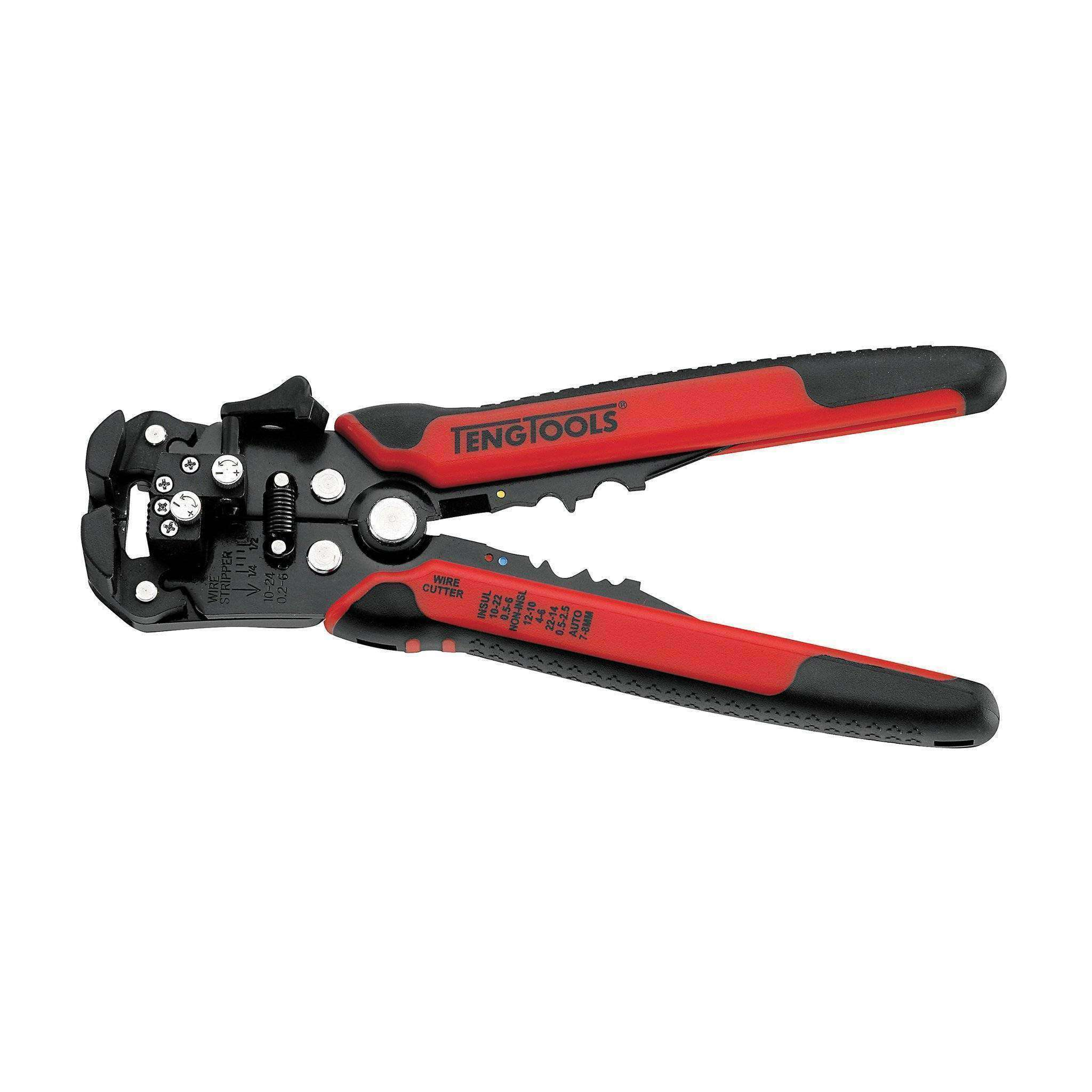 Automatic Cable Strippers, Wire Cutters & Crimping Pliers - Teng Tools CP60 - Teng Tools USA