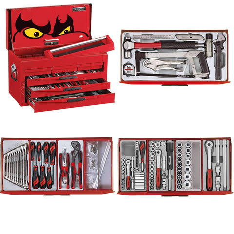 Teng Tools - 131 Piece Service Tool Kit - TEN-O-TC8131NF