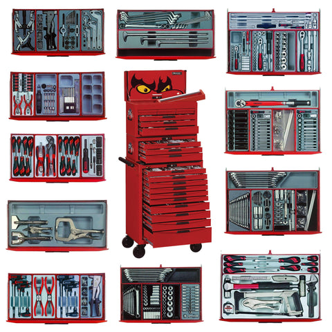 Teng Tools - 715 Piece Mega Master Tool Kit - TEN-O-TCMM715N