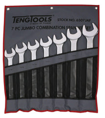Teng Tools 6507JAF - 7 Piece SAE Combination Wrench Set 1-5/16 to 1-7/8 inch - Teng Tools USA