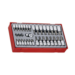 Teng Tools - 35 Piece 1/4 inch-3/8 inch Drive Socket Set - TEN-O-TTBS35 - Teng Tools USA