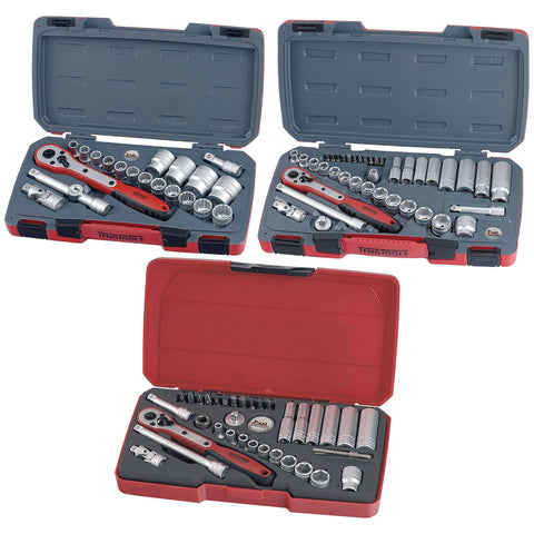 Teng Tools 96 Piece Mixed Drive Socket Set - Teng Tools USA