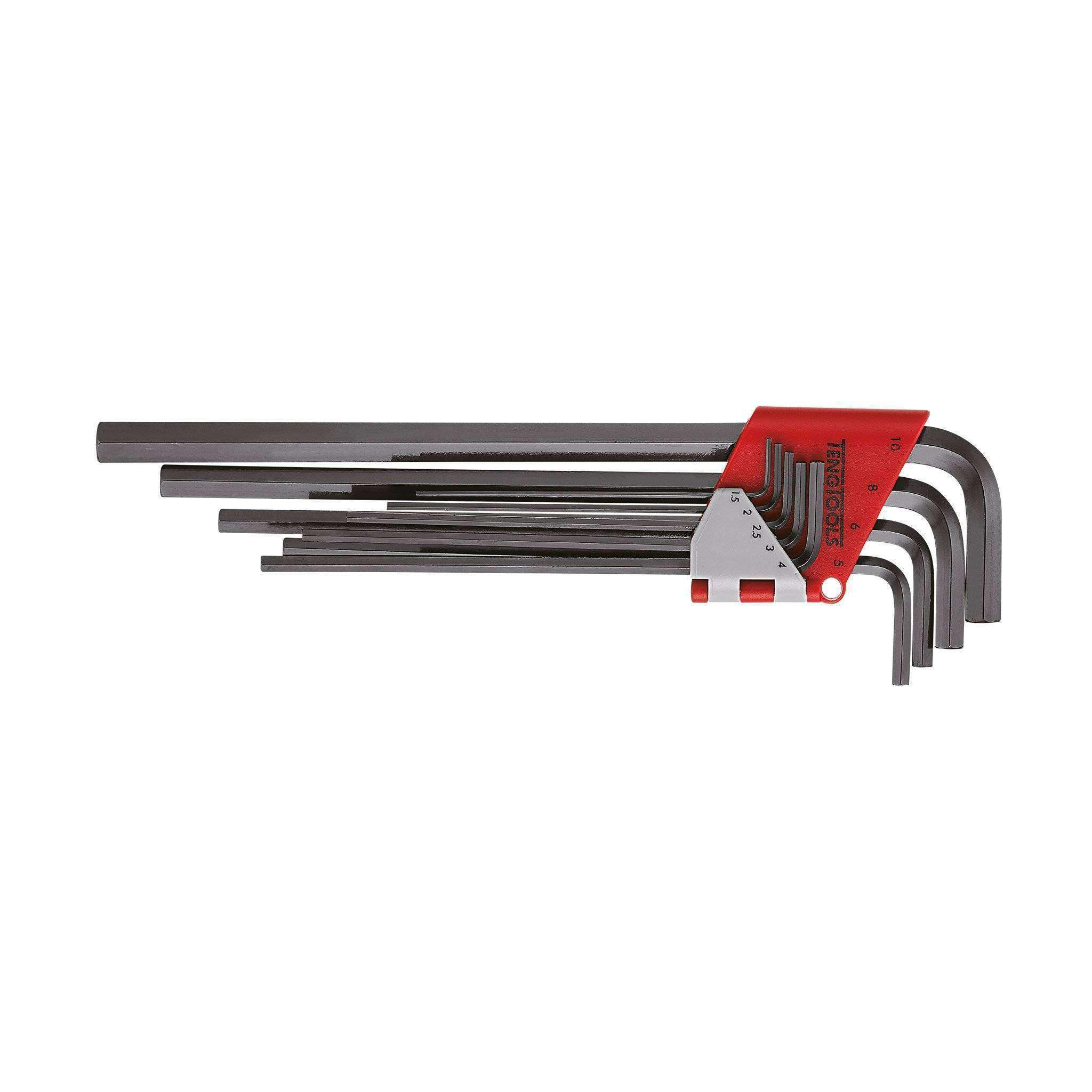 Teng Tools 1479MMRL - 9 Piece Extra Long Metric Hex Key Set - Teng Tools USA