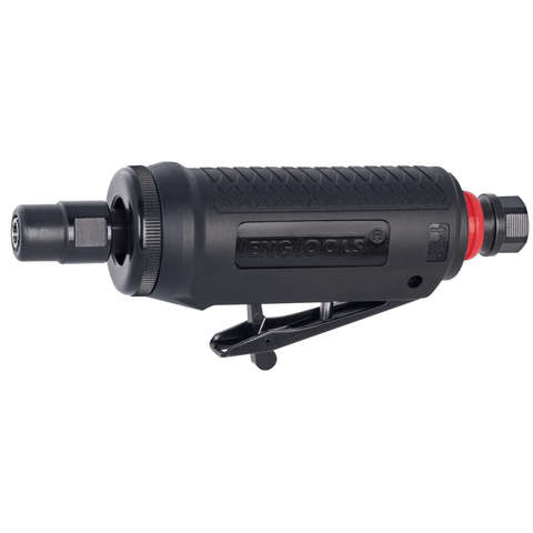 Teng Tools 25,000 RPM Mini Straight Pneumatic Composite Air Die Grinder with Silencer - ARG01