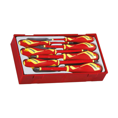 Teng Tools TTV907N - 7 Piece Flat/PH/PZ Insulated Screwdriver Set - Teng Tools USA