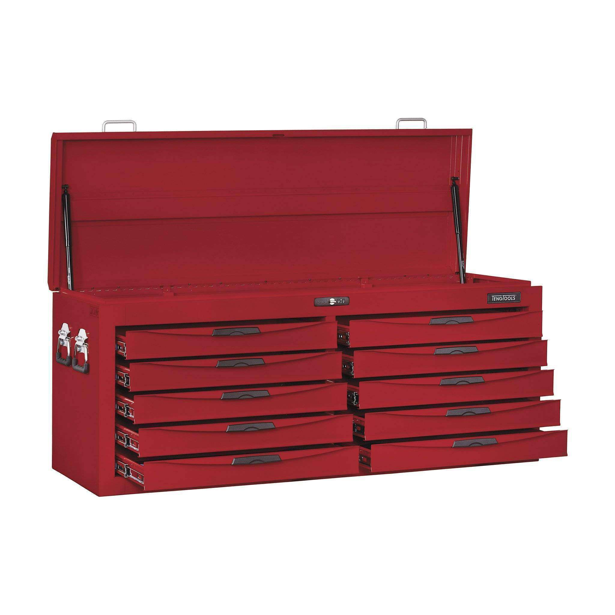 Teng Tools TC810N - 53 Inch Wide 10 Drawer 8 Series Top Box - Teng Tools USA