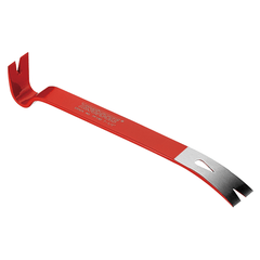 Teng Tools 7.5 Inch Long Wrecking Pry Bar For Leverage, Nail Removal and Can Opening - PF190