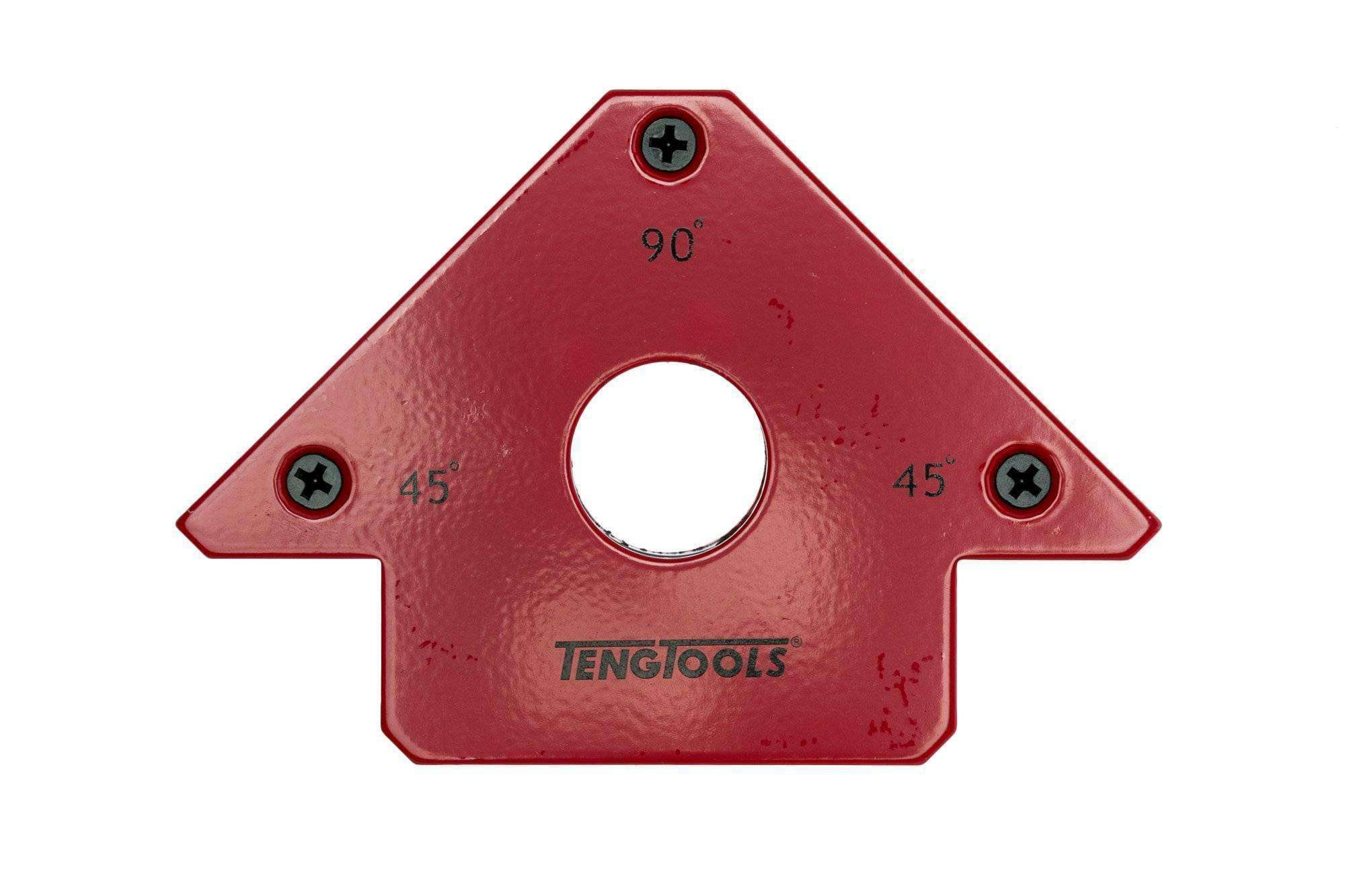 Teng Tools - 120 x 82mm Magnetic Welding Angle Block - MH75 - Teng Tools USA