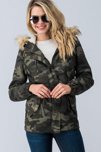 Camo Winter Jacket - T229