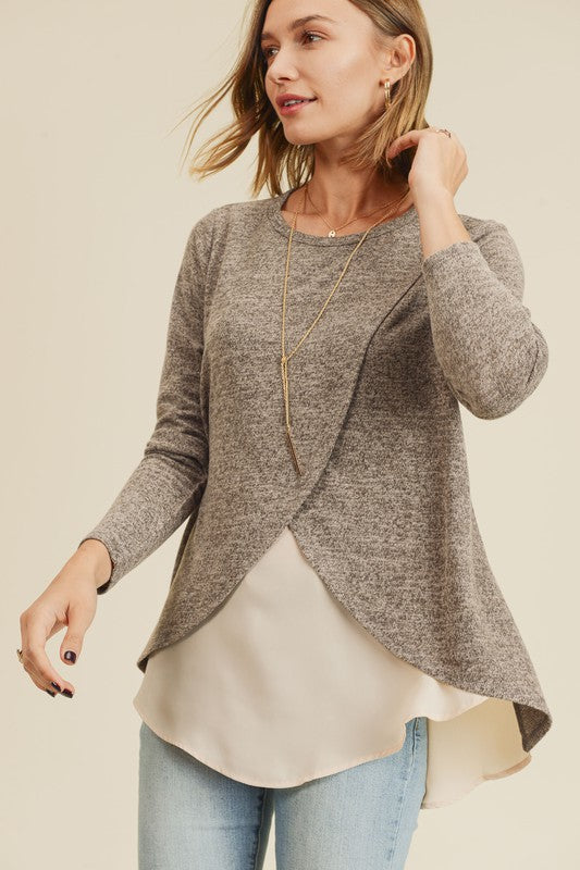 Two Tone Layer Top