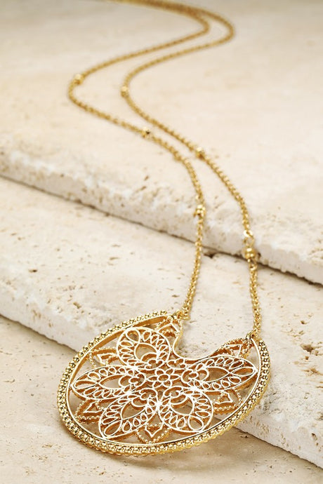 Moroccan Gold Necklace