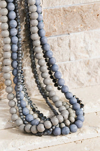 Greys Beaded Necklace