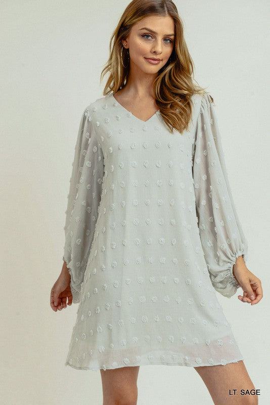 Bea Dress (Light Sage)