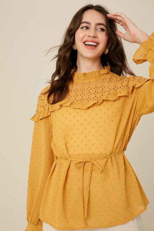 Golden Mustard Top