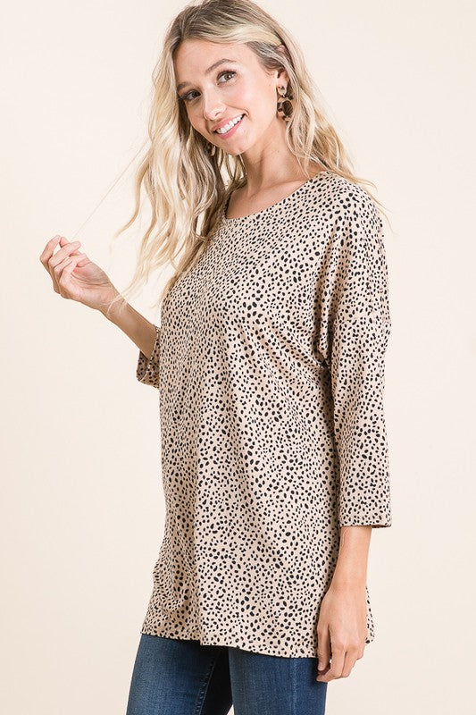 Leopard Tunic with Mask