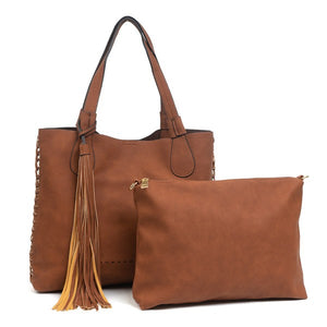 Whipstitch Bag (Brown)