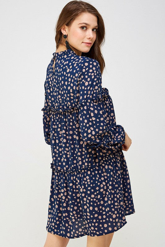 Jen Dress (Navy)