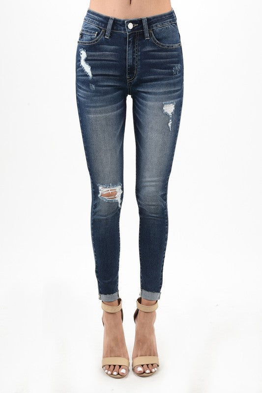 Distressed Denim - T69