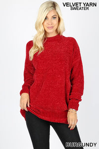 Burgundy Sweater - T192